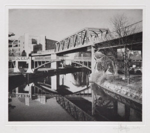 Photogravure ohne Titel Berlin 2007 24,1x20,5 (32x32) Edition 6