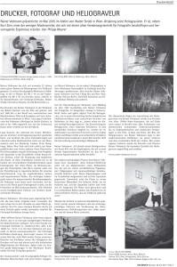 """Artikel in der Zeitschrift """"Umdruck"""""""