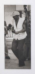 "Photogravure ""Der Maracaspieler"" Santiago di Cuba Kuba 2009 16,6x38,5 (25x52) Edition 9"