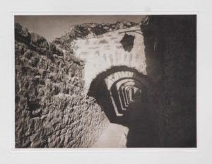 """Photogravure """"Durchblick"""" Ville de France France 2012 34,8x25,5 (40x50) edition 9"""