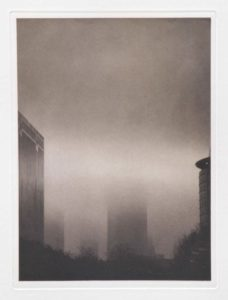 "Photogravure ""Giganten"" Frankfurt 2007 18,4x24,9 (30x40) Edition 9"