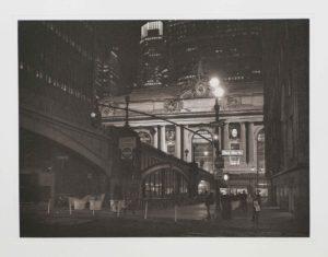 "Photogravure ""Grand Central Terminal"" NY 2015"