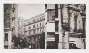 """Photogravure """"Täuschung"""" Havanna Kuba 2009 39,9x23,2 (40x50) Edition 9"""