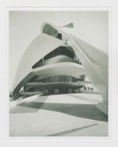 "Photogravure ""Valencia Oper"" Spain 2009 19,5x24,5 (30x40) Edition 9"