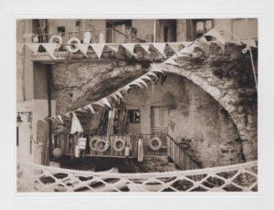 "Photogravure ""wer rettet mich?"" Cinque Terre1 Italy 2010 35,1x25,8 (40x50) Edition 9"