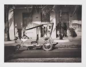 "Photogravure ""wohin geht die Reise?"" Cienfuegos Kuba 2009 38,8x29,8 (40x50) Edition 9"