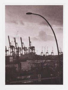 "Photogravure ""die Laterne"" Hamburg 2013 23,8x17,9 (30x40) Edition 9"