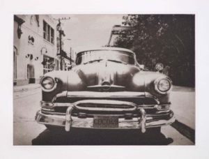 "Photogravure ""vergangene Zeiten"" Camaguey Kuba 2009 33,8x24,7 (40x50) Edition 9"