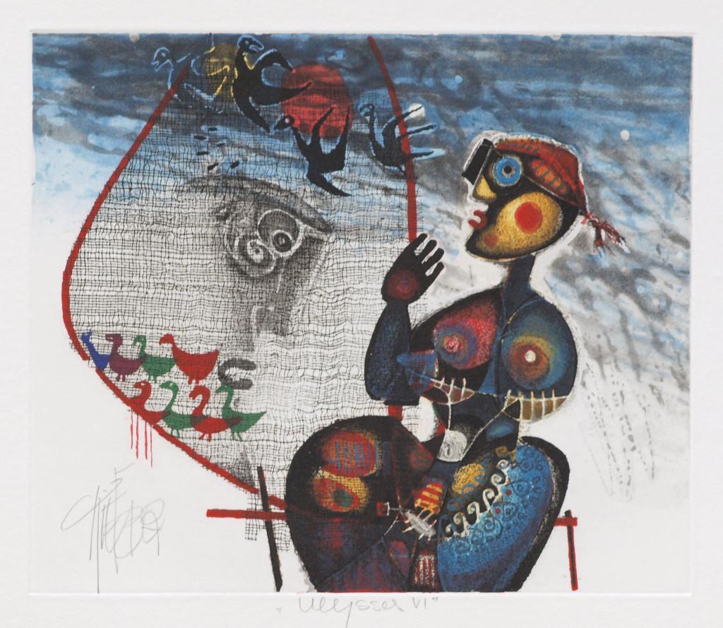 Christoph Kiefhaber, Ullysses VI, 32,7 x 27,5