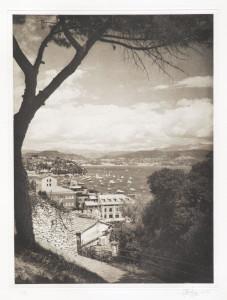 """Heliogravüre """"La Spezia"""" Cinque Terre2 Italien 2010 39,5x29,7 (40x50) Auflage 6x"""