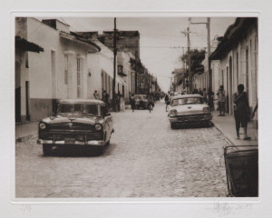 "Heliogravüre ""Zeitreise"" Trinidad Kuba 2009 20,4x18,6 (30x40) Auflage 9"