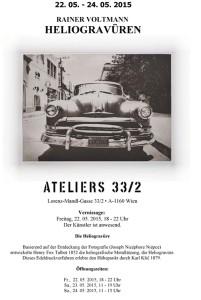 Ausstellung Ateliers 33 bei Walter Strobl Mai 2015