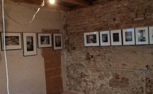Präsentation im enstehenden Atelier in Burg, Burgenland August 2015