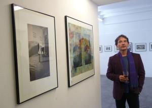 Ausstellung in den Ateliers 33/2 bei Walter Strobl. Wien, Mai 2015