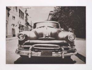 """Heliogravüre """"vergangene Zeiten"""" Camaguey Kuba 2009 33,8x24,7 (40x50) Auflage 9"""