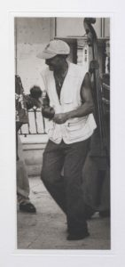 "Heliogravüre ""Der-Maracaspieler"" Santiago di Cuba Kuba 2009 16,6x38,5 (25x52) Auflage 9"