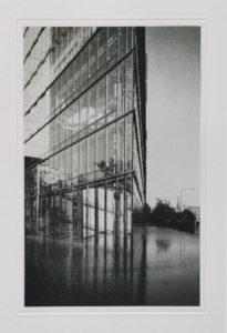 "Heliogravüre ""Grundlos"" Frankfurt 2007 18,3x28,2 (30x40) Auflage 9"