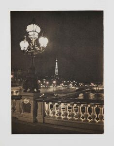 "Heliogravüre ""Paris bei Nacht"" 2008"