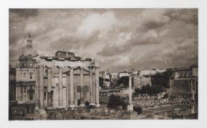 "Heliogravüre ""Roma!"" Rom 2008 39,8x23,4 (40x50) Auflage 9"