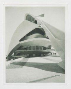 """Heliogravüre """"Valencia Oper"""" Spanien 2009 19,5x24,5 (30x40) Auflage 9"""