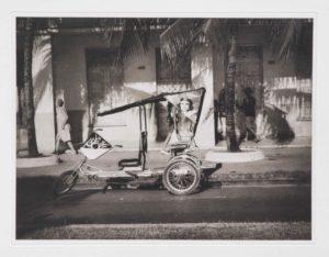 """Heliogravüre """"wohin geht die Reise?"""" Cienfuegos Kuba 2009 38,8x29,8 (40x50) Auflage 9"""