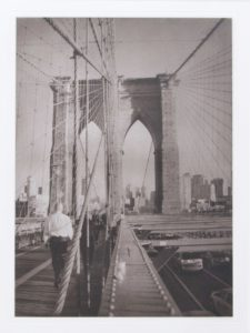 "Heliogravüre ""Brooklin Bridge"" 29,8 39,8 (40 x 50) Aflge.7"