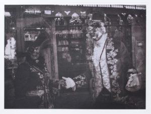 """Heliogravüre """"Impressionen eines Carnevals1 29,8 x 39,8 (40 x 50) Aflge.7"""